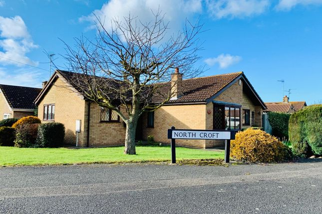 3 bed detached bungalow to rent in Northcroft, Saxilby, Lincoln LN1