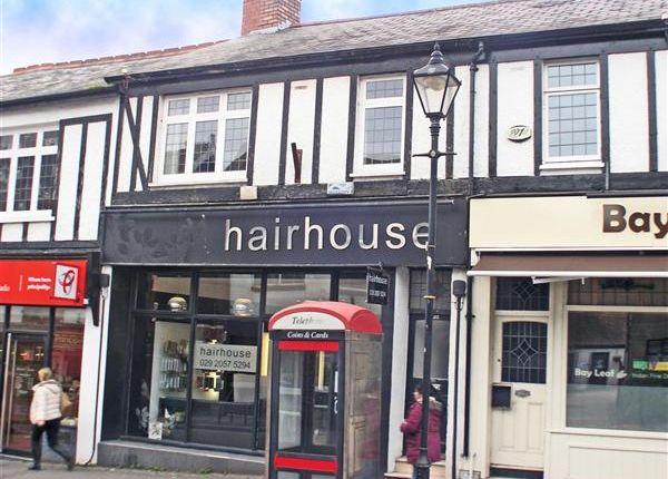 Thumbnail Maisonette to rent in High Street, Llandaff, Cardiff