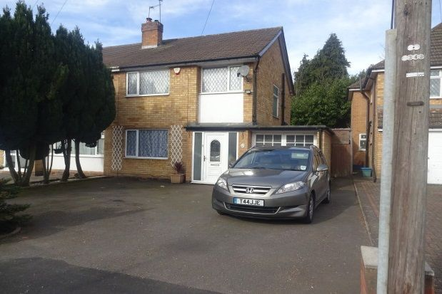 Thumbnail Property to rent in Rosedene Drive, Handsworth Wood, Birmingham