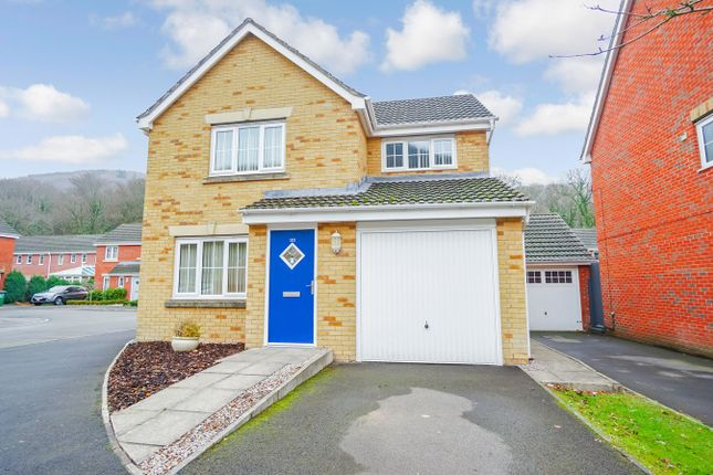 Thumbnail Detached house for sale in Coed Celynen Drive, Abercarn, Newport