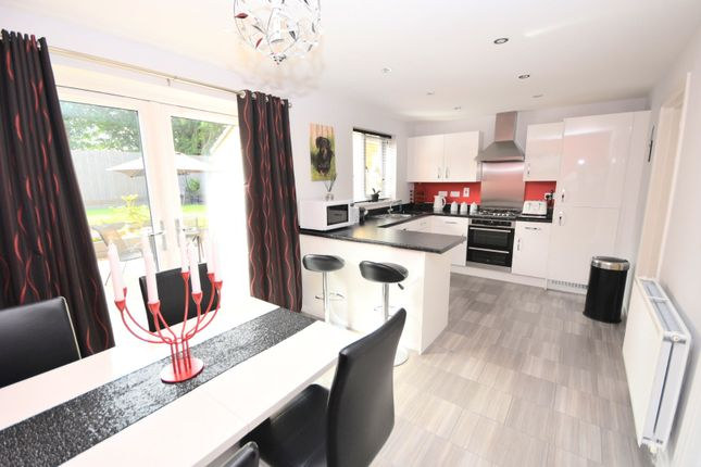 Thumbnail Detached house for sale in Green Crescent, Desborough, Kettering