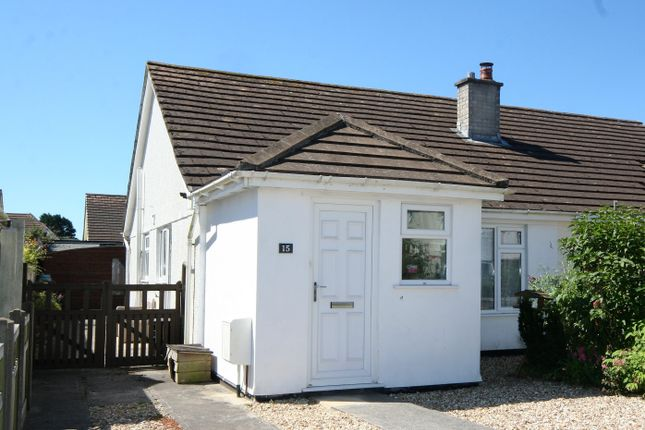 Thumbnail Semi-detached bungalow for sale in Pendeen Road, Threemilestone, Truro