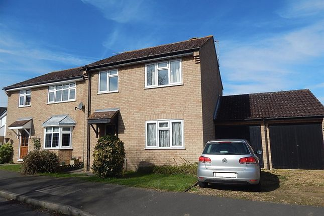 Thumbnail Detached house to rent in Peate Close, Godmanchester, Huntingdon