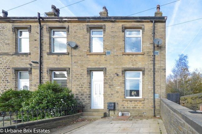Thumbnail End terrace house for sale in New Hey Road, Huddersfield