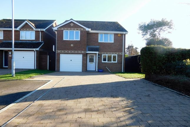 Thumbnail Detached house for sale in Lulworth Close, Poole