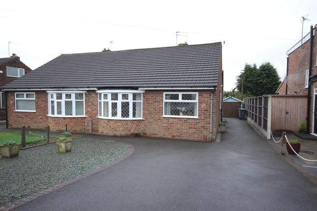 Thumbnail Semi-detached bungalow for sale in Wells Road, Mickleover, Derby