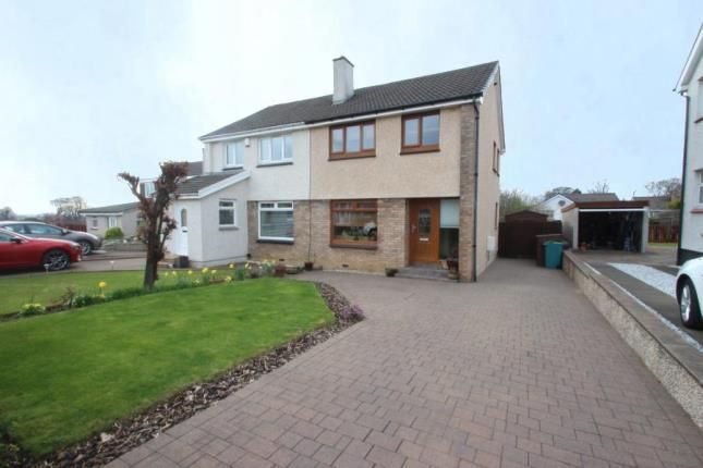 Thumbnail Semi-detached house for sale in Berwick Crescent, Cairnhill, Airdrie