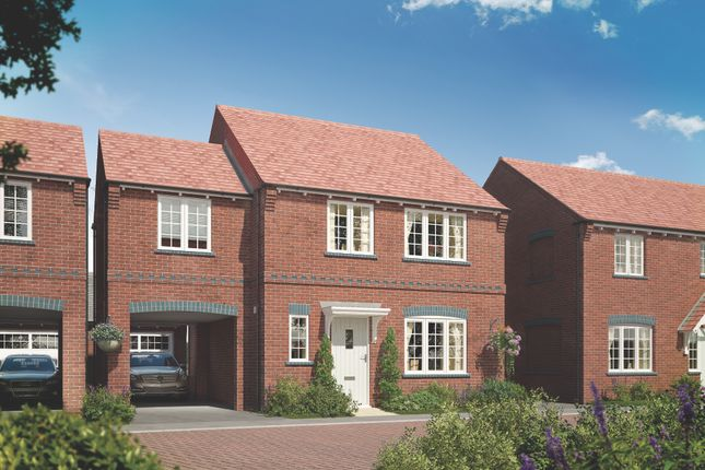 Thumbnail Detached house for sale in Moira Road, Ashby-De-La-Zouch