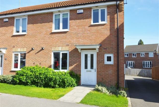 Thumbnail 3 bed semi-detached house to rent in Rose Mead, Swallownest, Sheffield