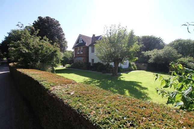 Thumbnail Detached house for sale in Hawkshill Camp Road, Walmer, Deal