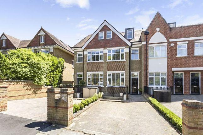 Thumbnail Town house to rent in Cottenham Park Road, Wimbledon