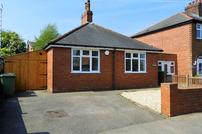 Thumbnail Detached bungalow for sale in Beckett Avenue, Mansfield