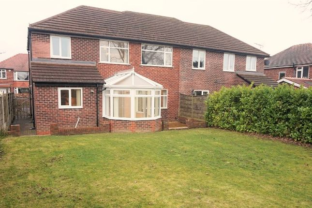 Thumbnail Semi-detached house for sale in Marlow Drive, Handforth