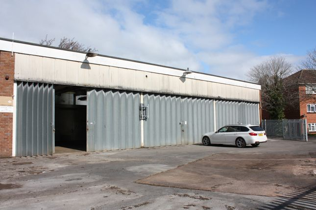 Industrial to let in Parkhouse Road, Minehead