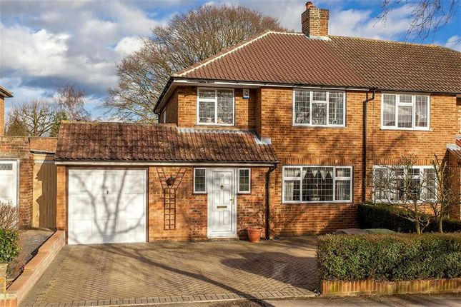 Thumbnail Semi-detached house to rent in Cuckmans Drive, St Albans, Hertfordshire