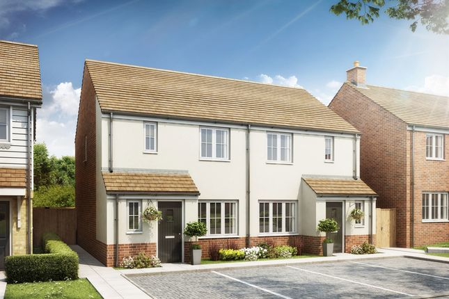 "3 bedroom end terrace house for sale in ""The Hanbury"" at Rattle Road, Stone Cross, Pevensey"