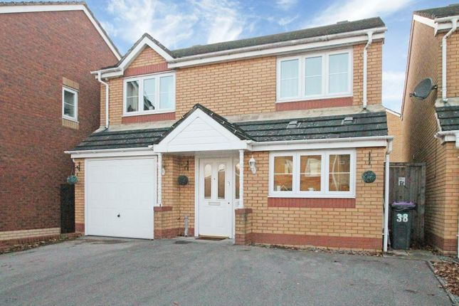 Thumbnail Detached house for sale in Churchwood, Griffithstown, Pontypool, Torfaen