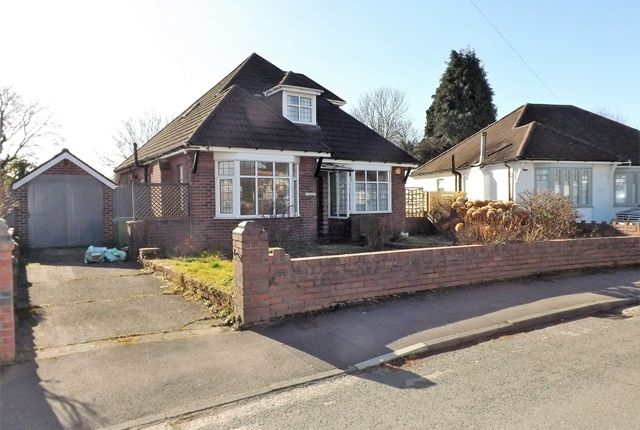 Thumbnail Detached bungalow to rent in Heol Cae-Rhys, Rhiwbina, Cardiff