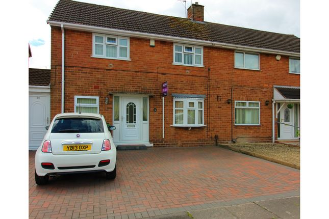Thumbnail Semi-detached house for sale in Abingdon Road, Wolverhampton