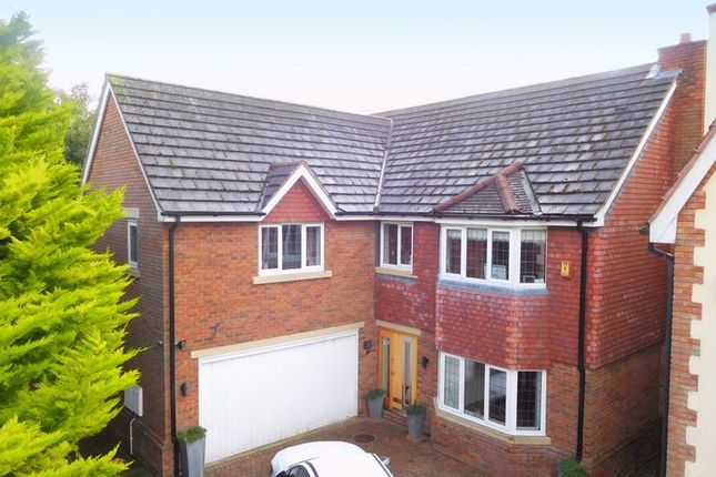 Thumbnail Detached house for sale in Cobbs Lane, Hough, Crewe