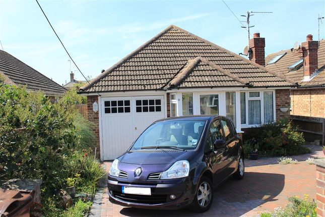 Thumbnail Detached bungalow for sale in Val Prinseps Road, Pevensey Bay, Pevensey