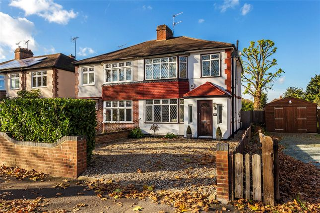 Thumbnail Semi-detached house for sale in New Haw, Addlestone, Surrey