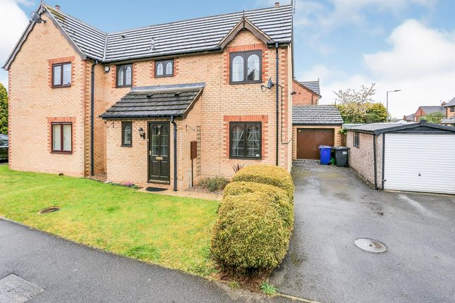3 bed semi-detached house for sale in Edencroft Drive, Edenthorpe, Doncaster DN3