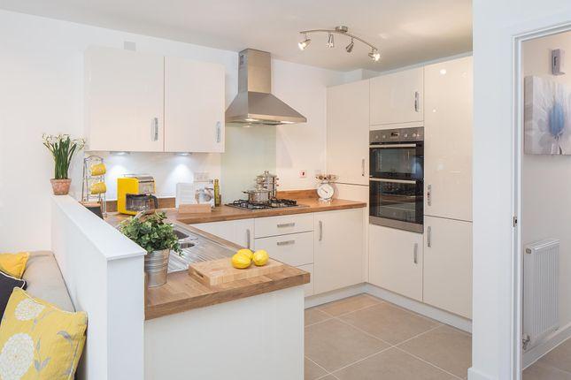 "Thumbnail Semi-detached house for sale in ""Cannington"" at Carters Lane, Kiln Farm, Milton Keynes"