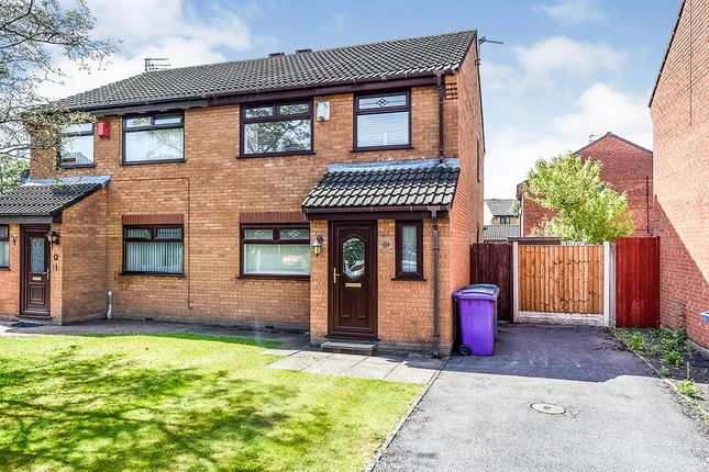Thumbnail Semi-detached house for sale in Muirfield Close, Liverpool, Merseyside