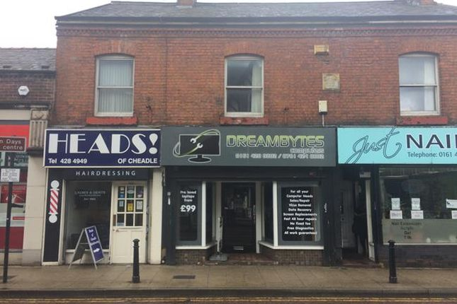 Thumbnail Retail premises to let in 14 High Street, Cheadle, Cheshire