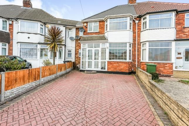 Thumbnail Terraced house for sale in Wellsford Avenue, Solihull, West Midlands, Birmingham