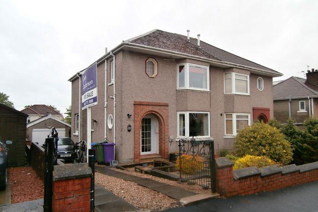 Thumbnail Semi-detached house for sale in Weirwood Avenue, Garrowhill, Glasgow