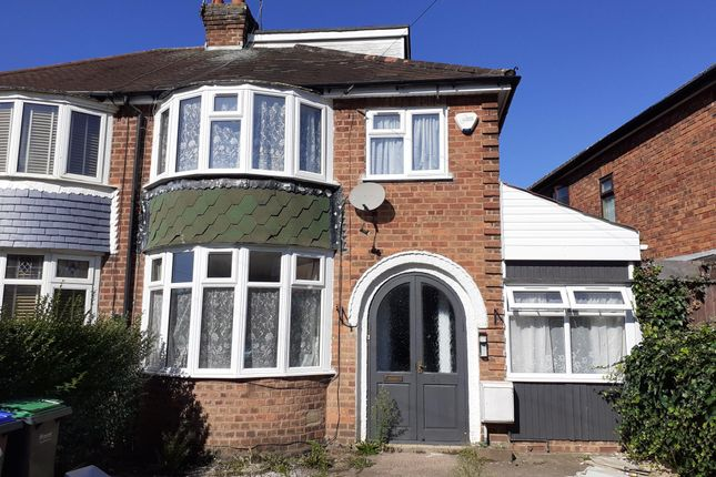 Thumbnail Semi-detached house to rent in Hembs Crescent, Great Barr, Birmingham