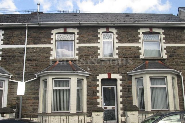 Thumbnail End terrace house for sale in Newport Road, Cwmcarn, Newport.