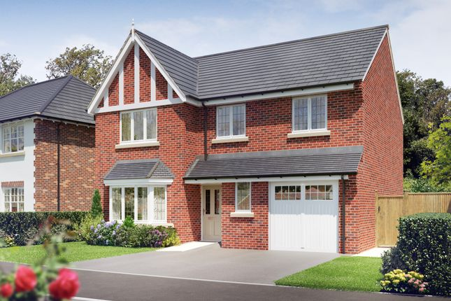 Thumbnail Detached house for sale in The Draycott At Oaklands Park, Wyaston Road, Ashbourne