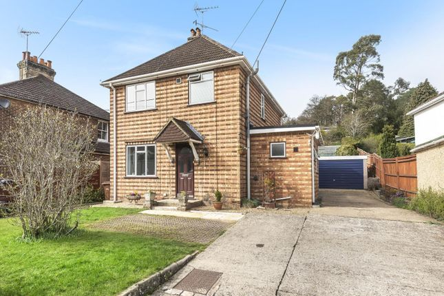 Thumbnail Detached house for sale in Middle Bourne Lane, Lower Bourne, Farnham
