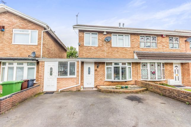 Thumbnail Semi-detached house for sale in Denmore Gardens, Wolverhampton