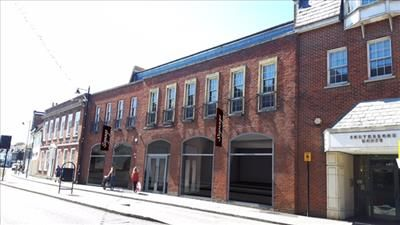 Thumbnail Retail premises to let in Ground Floor Retail, 26 -27 Bartholomew Street, Newbury
