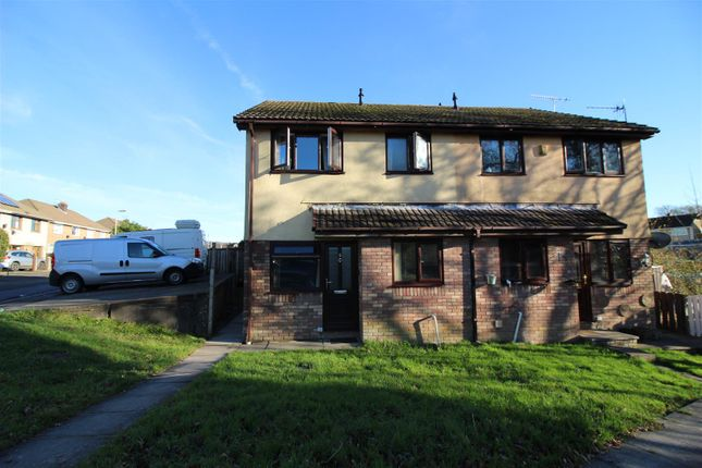1 bed end terrace house to rent in Willowturf Court, Bryncethin, Bridgend CF32