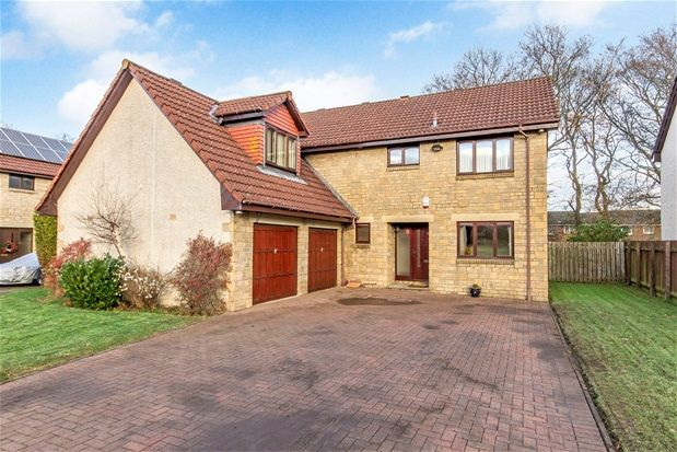 Thumbnail Detached house for sale in Carrick Gardens, Livingston, Livingston