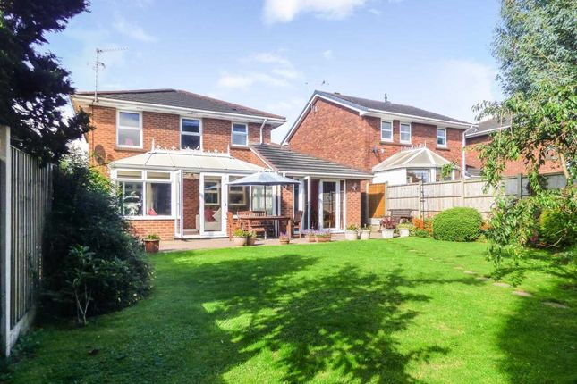 Thumbnail Detached house for sale in The Brackens, Clayton, Newcastle-Under-Lyme
