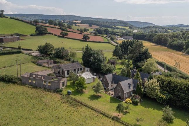 Thumbnail Detached house for sale in Llanllywel, Usk