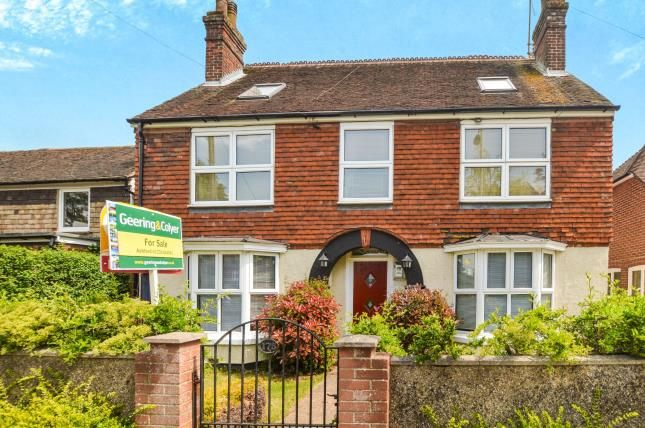 Thumbnail Detached house for sale in Faversham Road, Kennington, Ashford, Kent