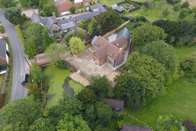 Aerial 2 of Chishill Road, Heydon, Royston SG8