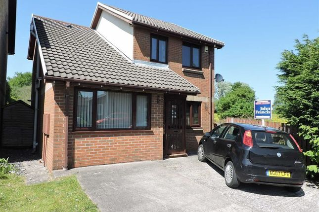 Thumbnail Detached house for sale in Llys Dol, Morriston, Swansea