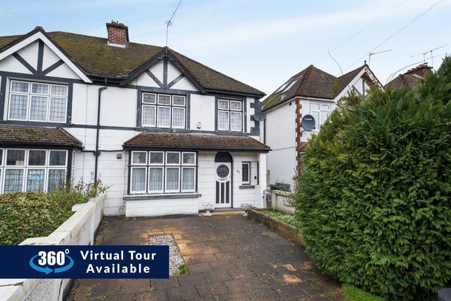 Thumbnail Semi-detached house for sale in Ferrers Avenue, West Drayton