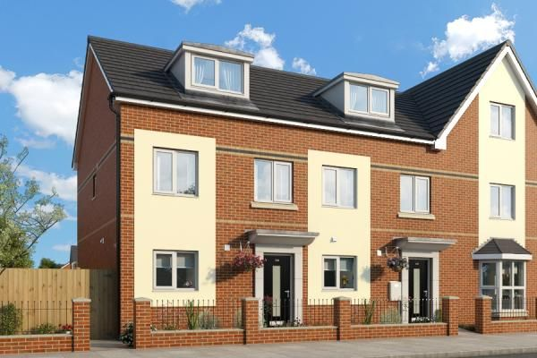 "Thumbnail Property for sale in ""The Oakhurst At The Parks Phase 4"" at Glaisher Street, Everton, Liverpool"