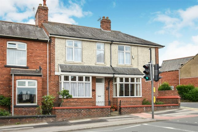 Thumbnail End terrace house for sale in Poppleton Road, York