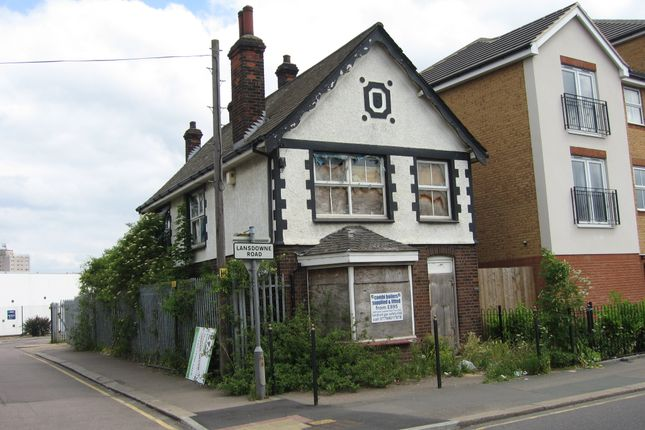 Thumbnail Block of flats for sale in Landsdowne Road, Tilbury