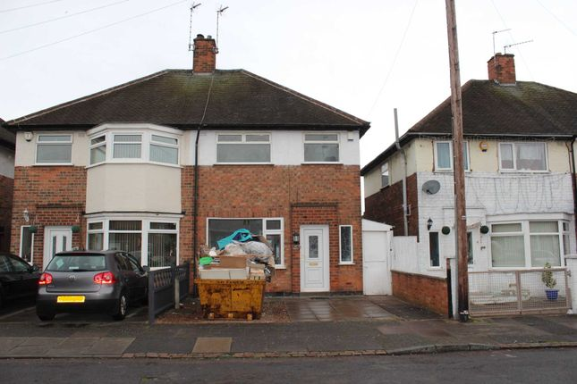 Thumbnail Semi-detached house to rent in Swithland Avenue, Leicester
